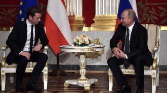 Встреча Путина с канцлером Австрии: страны реализуют совместные проекты по энергетике