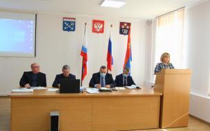 В Выборгском районе обсудили вопросы безопасности населения