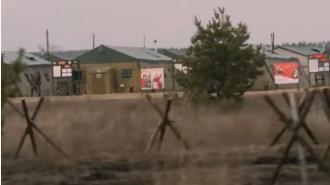 В эфире британского канала показали российский военный полигон около Украины