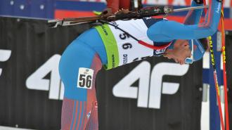 Петербуржец стал четвертым в эстафете по биатлону на этапе Кубка мира