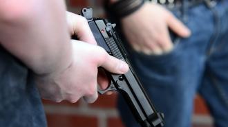 В Ленобласти задержан уголовник с огнестрельным оружием