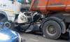 """На Кубинской после жесткого ДТП с грузовиками """"Метростроя"""" зажало водителя"""