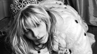 Мэнсон и Кортни Лав - новые лица модного дома Saint Laurent