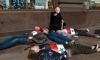 Активисты устроили на Невском перформанс против войны в Сирии