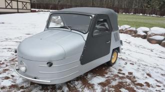 В Петербурге на продажу выставили советскую трехколесную машину за 5,7 млн рублей