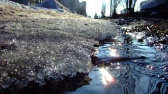 В конце недели в Петербурге ожидают оттепель