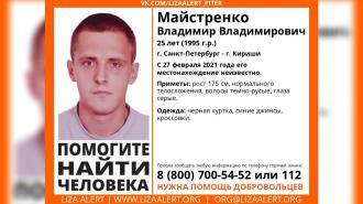 В Петербурге ищут исчезнувшего в конце февраля молодого таксиста