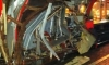 В Москве товарняк врезался в бетономешалку, раскурочив ей кабину