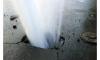 На Васильевском острове в Петербурге прорвало трубу с горячей водой