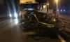 На трассе М 10 под Тверью неуправляемый МАЗ протаранил легковушку на обочине