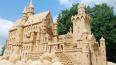 Из-за ливней пострадали песчаные скульптуры в Петропавло...
