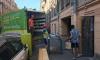 Сотрудники Смольного помогли выехать незаконно работающему кафе на Рубинштейна