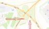 На развязке КАД с проспектом Энгельса перекроют два съезда