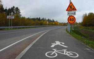 В Светогорске продолжается строительство велодорожки