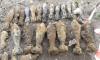 На Пулковском шоссе в очередной раз нашли боеприпасы времен ВОВ