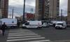 На севере Петербурга троллейбус сбил женщину