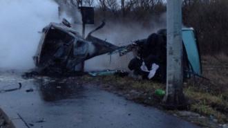В Пушкине в ДТП на Павловском шоссе водителю оторвало голову