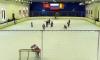 Ледовый спорткомплекс в Петергофе не могут потушить до сих пор