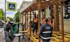 В Петербурге разрешили открывать летние кафе еще большей площади