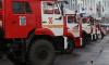 """В Петербурге прошли соревнования пожарных и спасателей """"Вертикальный вызов"""""""