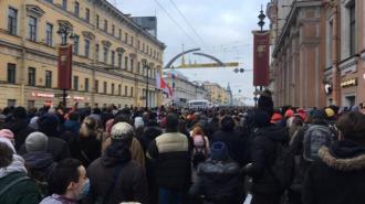 В Петербурге на 7 суток арестовали активиста за призывы к протестам 23 января