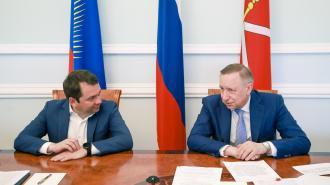 Беглов и Чибис обсудили перспективы сотрудничества