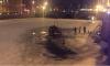 Водитель и пассажир успели спастись из автомобиля, затонувшего в Фонтанке