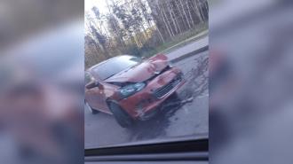 Два автомобиля столкнулись на проспекте Энгельса
