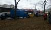 Автобус помял пять машин на Олеко Дундича, уходя от столкновения