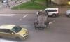 """На улице Крупской пьяный водитель и пассажир устроили """"перевертыш"""""""