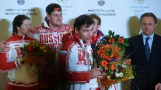 Герои вернулись домой: самолет олимпийской сборной России сел в Шереметьево