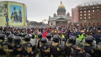 Бастрыкин составил социальный портрет участников незаконной акции в Петербурге