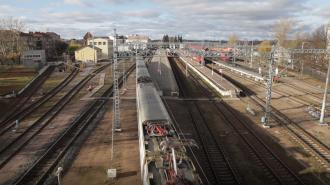 Международную выставку железнодорожных моделей открыли в Петербурге