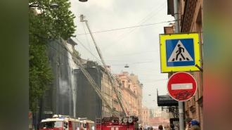 В Петроградском районе перекрыта Большая Пушкарская улица