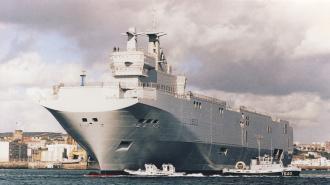 ПЭФ: «Мистрали» поплывут в Россию