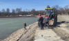 В Петергофе очистили Запасной пруд водоподводящей системы фонтанов