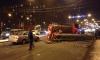 На проспекте Стачек пожарная машина перевернулась после столкновения с Opel