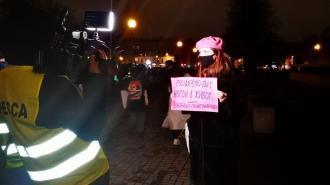 На митинге в Петербурге задержали фем-активистку Лёлю Нордик