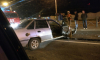 На Суздальском проспекте иномарка протаранила забор