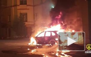 В Петербурге ночью сгорели четыре автомобиля
