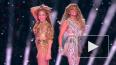 Шакира и Джей Ло порвали Сеть танцами на Супербоуле