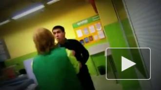 Покупатель разгромил магазин в Купчино и избил охранника до полусмерти