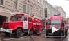 Из-за пожара в военном общежитии в Кронштадте 26 человек провели ночь на улице