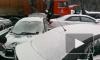 На трассе в Ленинградской области столкнулись 9 автомобилей