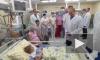 Милое видео: Владимир Путин встретился с пациентами Морозовской детской больницы