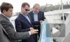 Медведев со строителями первыми проехали по мосту на остров Русский