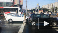 Видео: автомобили встали на Бухарестской улице из-за ДТП