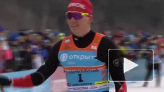 Александр Большунов стал победителем Югорского лыжного марафона