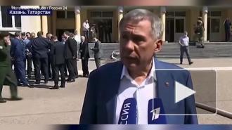 Глава Татарстана рассказал о числе раненых и погибших после стрельбы в казанской гимназии