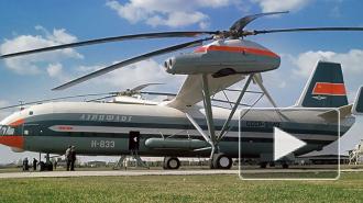 Эволюцию вертолетов Миля показали на видео